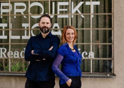 Autori projekta i organizatori : Aleksandar Battista Ilić i Ivana Nikolić Popović